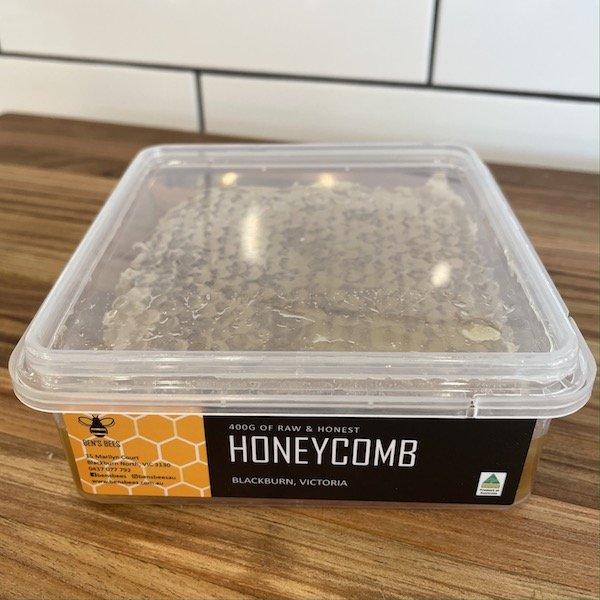 Ben's Bees raw honeycomb 400g