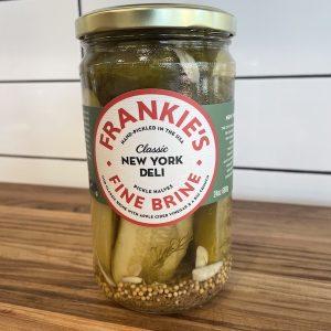 Frankie's Pickle Halves