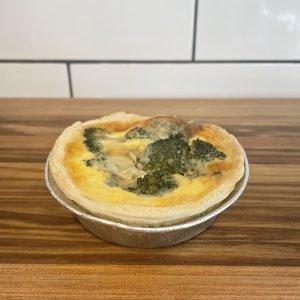 Broccoli and Blue Cheese Tart vegetarian