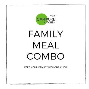 Family meal combo, feed your family with one click