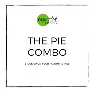 The pie combo meal deal. Six pies for the price of five