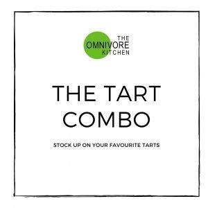 Tart combo, stock up on your favourite vegetarian tarts