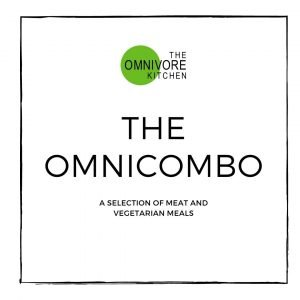 The Omnicombo meal deal, a selection of meat and vegetarian meals